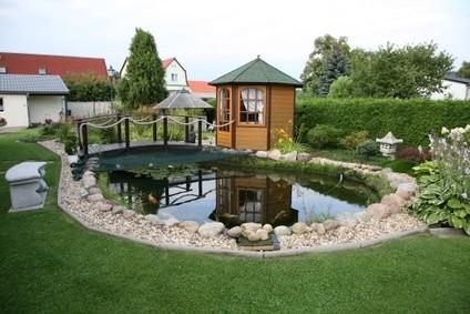 Fontaine De Jardin Fait Maison. Bassins Et Fontaines Pour Embellir ...
